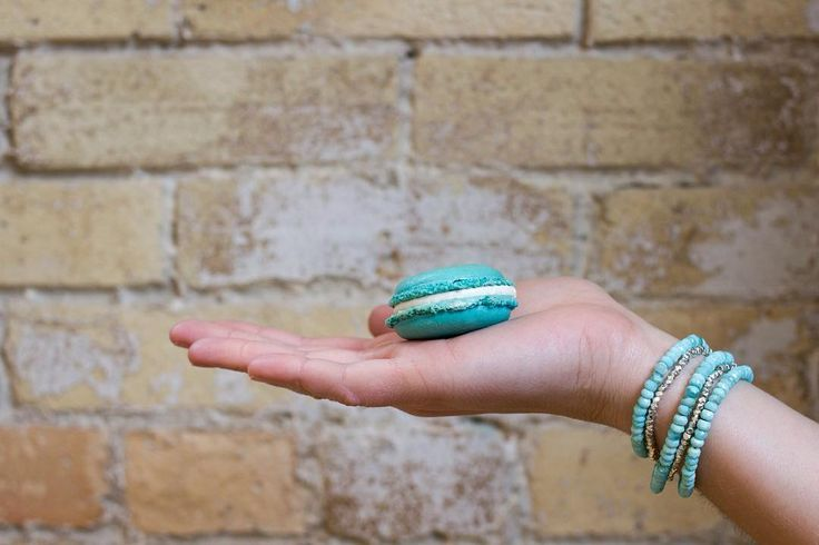 When your macaron matches your bracelets, you know its going to be a good day