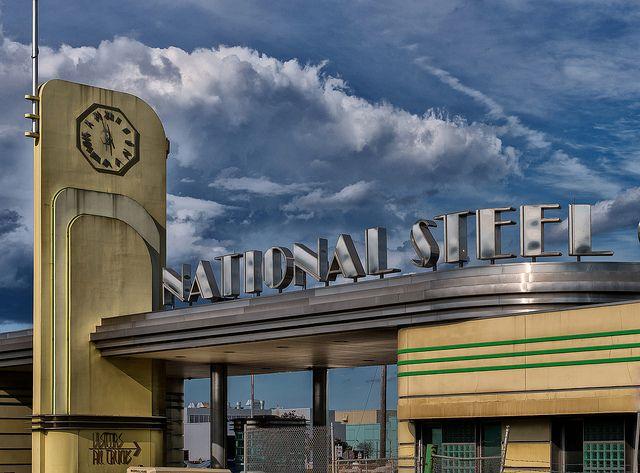 National Steel Car plant in Hamilton Ontario