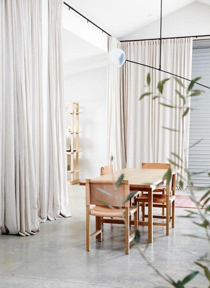 17 meilleures id es propos de rideaux de salle manger - Rideaux salle a manger salon ...