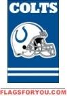 """last 2 - Colts Applique Banner 44"""" x 28"""""""