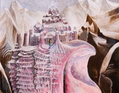 """Check out new work on my @Behance portfolio: """"Peinture - inspirée de """"Above The Sea Level"""" de V. Kush"""" http://be.net/gallery/60668133/Peinture-inspire-de-Above-The-Sea-Level-de-V-Kush"""