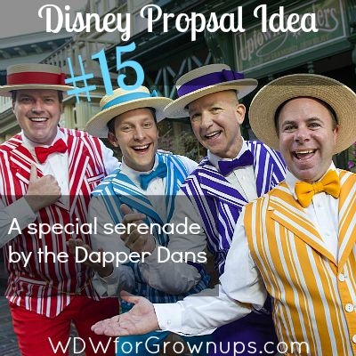 25 Fun and Fantastic Ways to Propose At Walt Disney World - We LOVE #15! #WDW