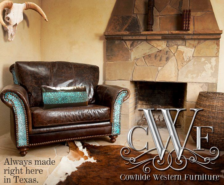 Awesome chair from Cowhide Western Furniture Company in Corinth, TX.
