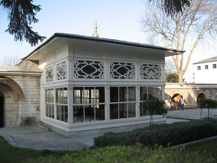 terrace pavilion (Topkapı Palace - Istanbul)