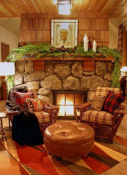 Fireside holidays . . .