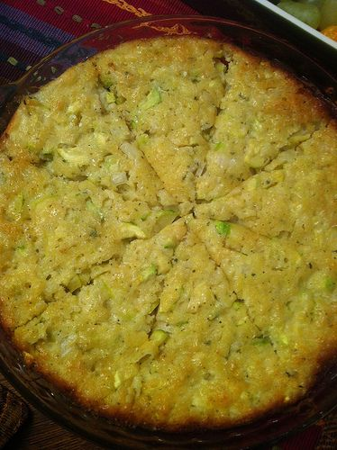 Recipe: Zucchini Onion Pie