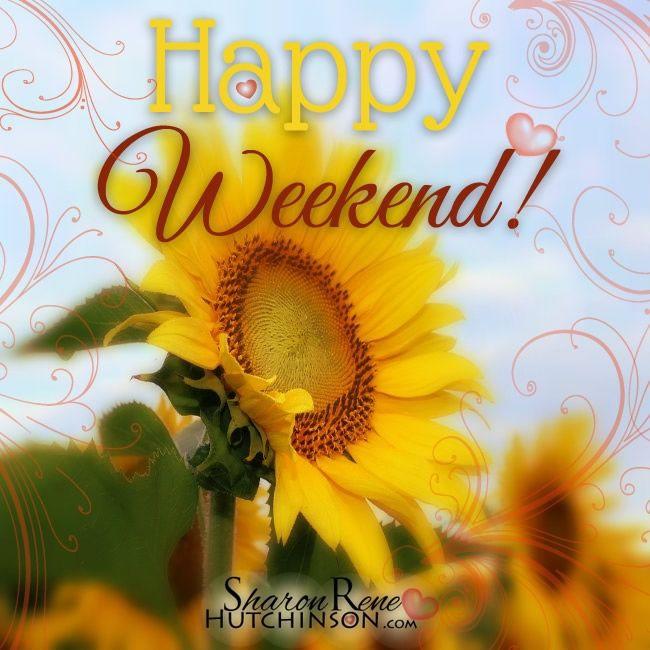 Happy Weekend! #weekend happy weekend sunflowers