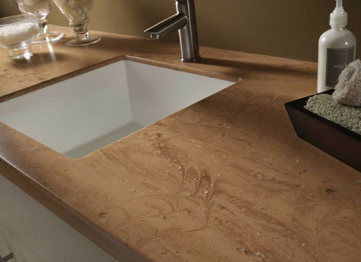 13 best solid surface counter tops images on pinterest for Corian kitchen countertops cost