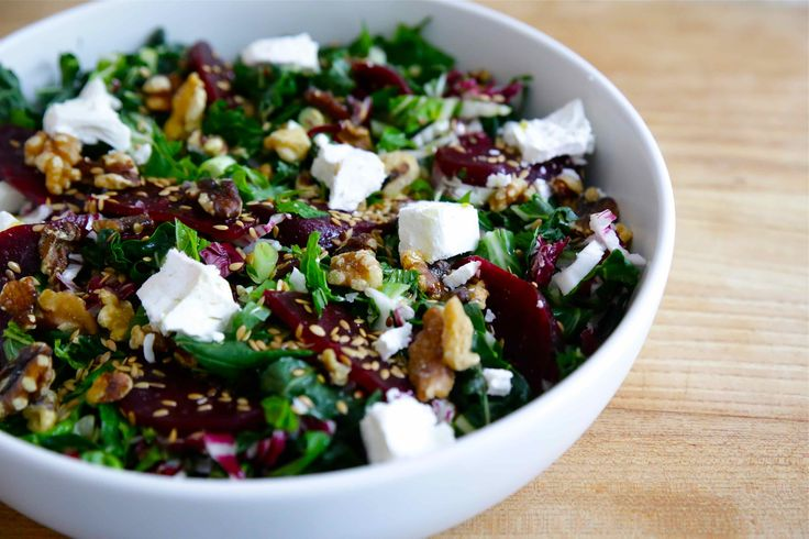The Brown Paper Bag | LOVELY BEET AND SILVERBEET SALAD