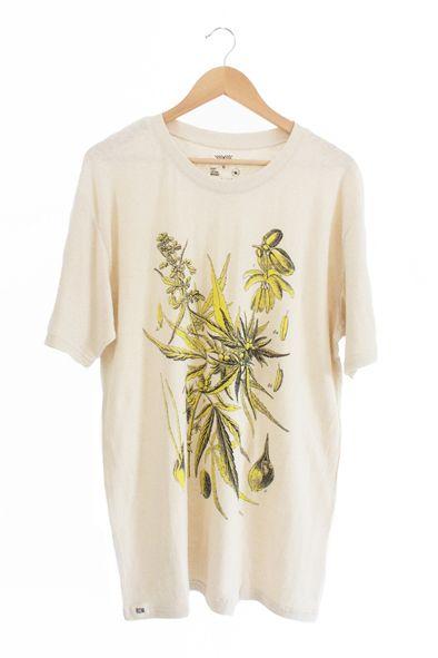 RCM CLOTHING / T-SHIRT NATURAL HEMP  Sustainable Hemp Apparel, 55% hemp 45% organic cotton jersey http://www.rcm-clothing.com/