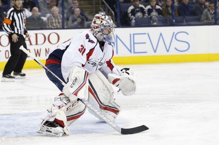 The Capitals are in the market for a No. 3 goaltender