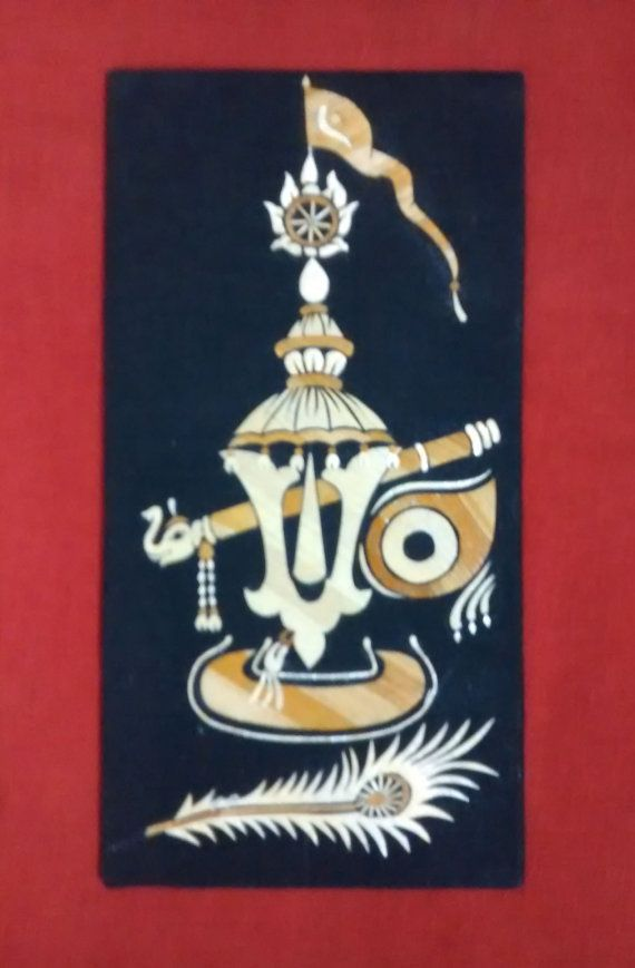 A beautiful wall hanging of Lord Jagannath in by PattachitraNet