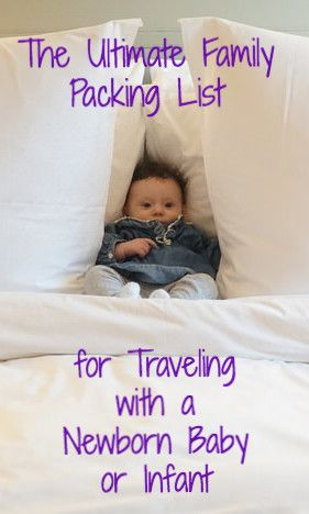 We were just fresh off our first international trip with our infant caught who is 8 months old. This packing list is everything that your entire family will need. I wanted an all-encompassing list that we could skip over certain things if we wanted.