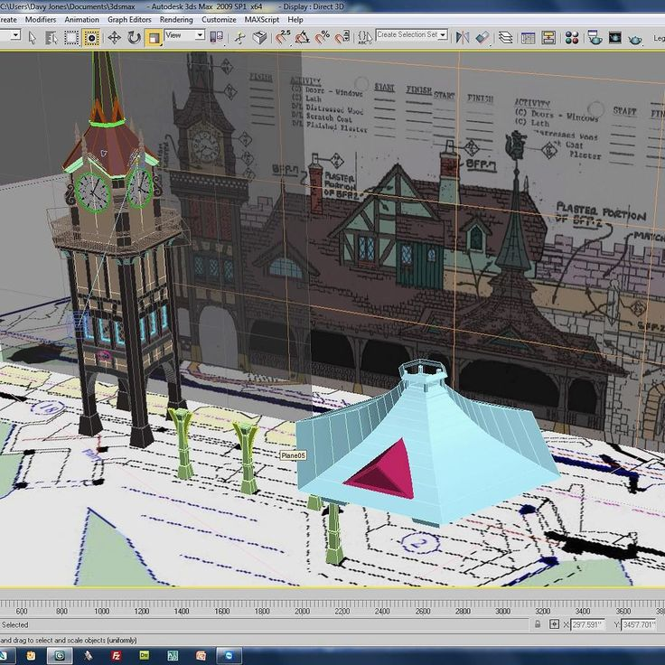 #disney in #3d progress: --- A screenshot of the progress on the queue line. Gives you an idea of how we use texture/photo mapped planes to help with the modeling process. A detailed elevation and floor plan go a long way! --- http://ift.tt/1G95kUE --- #disneyland #waltdisney #anaheim #california #fantasyland #sketchup #3dprinting #peterpan by modelingdisney