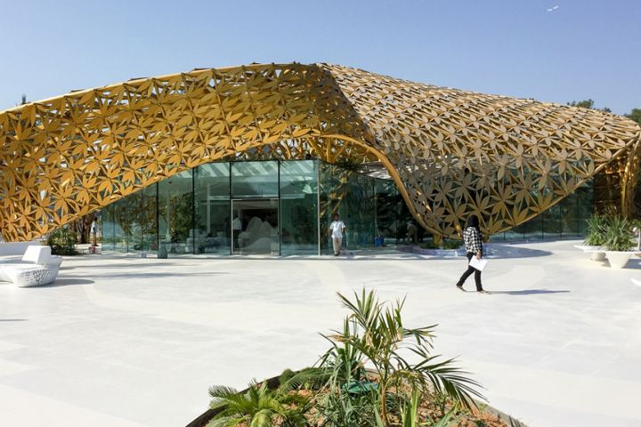 Butterfly Pavilion by 3deluxe at Noor Island, Sharjah – UAE » Retail Design Blog