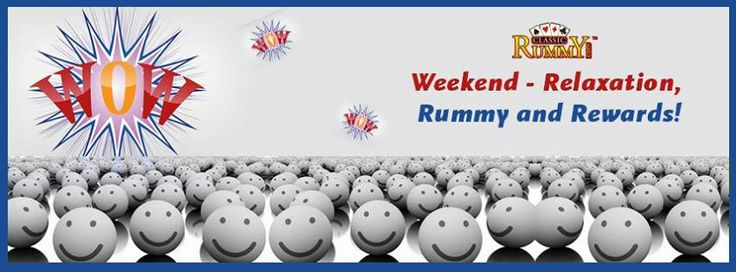 Aaaahhhhhh !!!!!!!!!Its weekend....  Weekends don't count unless you spend them doing something completely pointless.  Have a fun filled #Weekend by #playing #rummyonline at India's favourite #Rummy site #classicrummy  Book your seat in jumbo free tournaments this saturday and win rs.5000 free cash 1 pm.  https://www.classicrummy.com/jumbo-free-tournaments?link_name=CR-12
