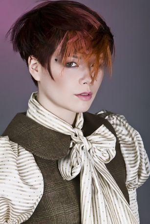 präsentiert von www.my-hair-and-me.de #women #hair #haare #short #kurz #kurzhaarfrisur #brown #braun #outfit #asian #style #asiatin