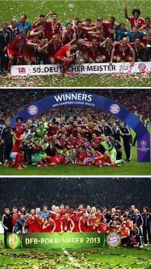 FC Bayern München -  #Triple  #miasantriple