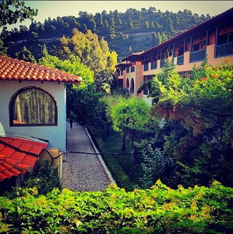 Every corner has its story @ Athena Pallas Village! #sithonia #romantic #nikiti #greece