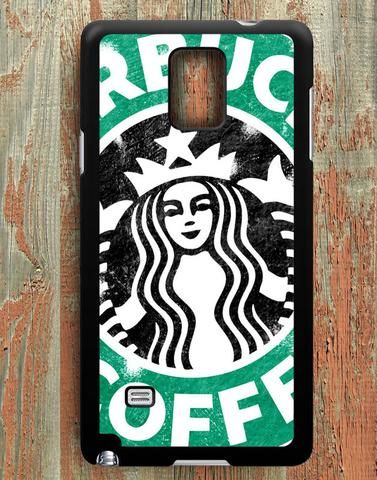 Starbuck Coffee Inspired Samsung Galaxy Note 4 Case