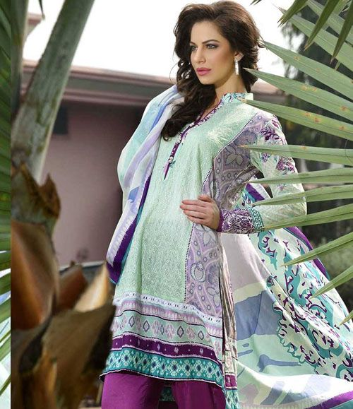 Gohar Embroidered Lawn Suits Collection G_03