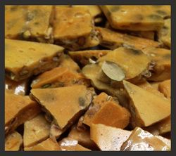 The Allergic Chef - Pumpkin Seed Brittle, a wonderful substitute for someone with a peanut allergy