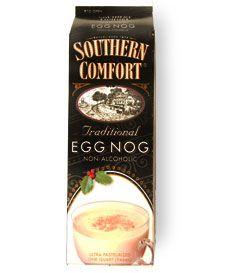Southern comfort eggnog, THE  best eggnog EVER!