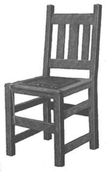 Mission Style Dining Chair Plans