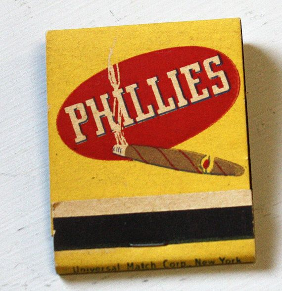 1940s Matchbook Phillies Cigar America's No. by collectiblejewels