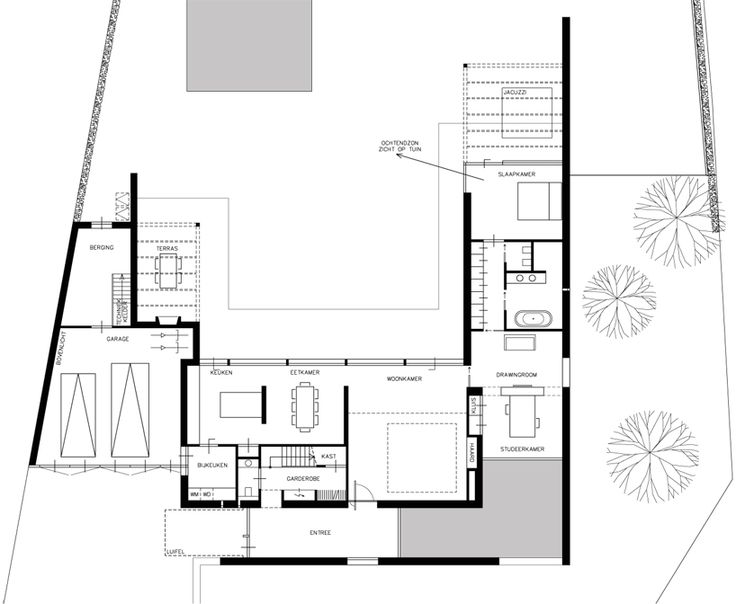 'villa rotonda' by bedaux de brouwer architecten, goirle, the netherlands