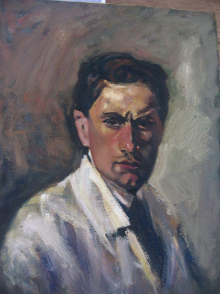 Mario Sironi, Autoritratto