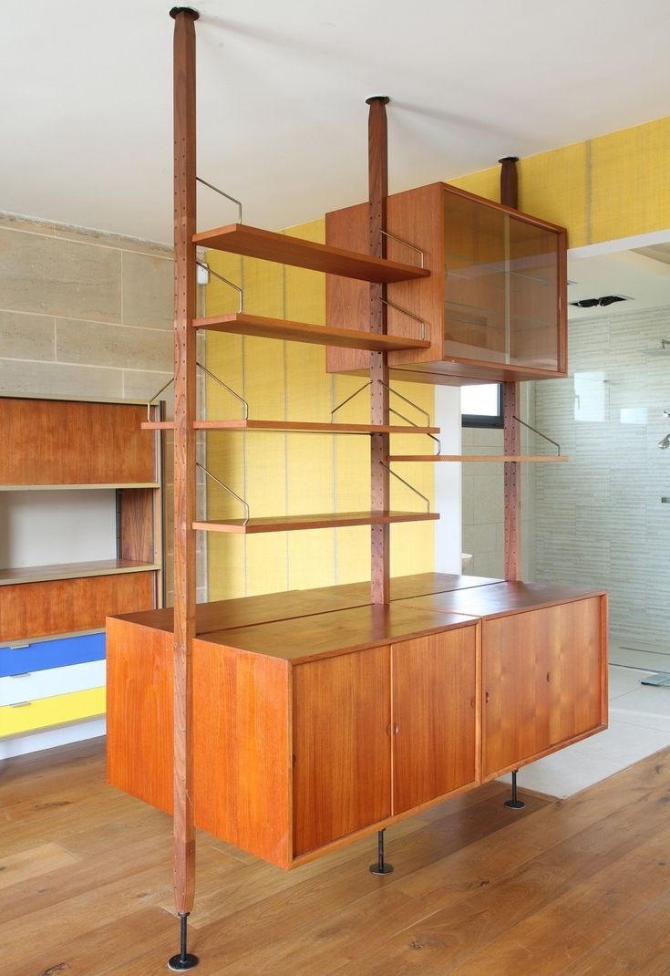Diamond Dimple Closed Rocking Chair In 9 Kleuren - Wall unit from the sixties by poul cadovius for royal system