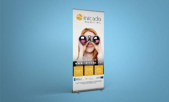 inicado.pl - rollup promocyjny dla portalu inicado.pl // rollup promoting inicado.pl website
