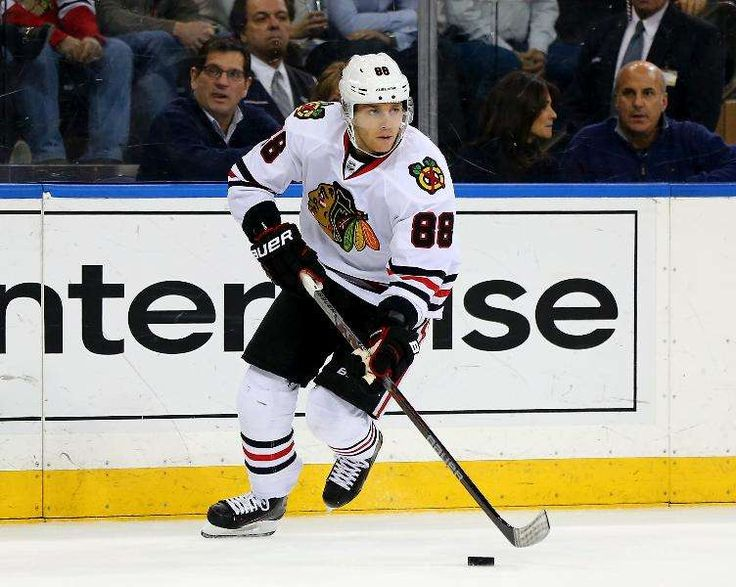 The NHL's Highest‐Paid Players 2016‐17:     3. Patrick Kane:    Total Earnings: $14.8 million  -    Salary: $13.8 million  -    Endorsements: $1 million  -    Kane led the league in scoring last season and was selected as the NHL's MVP. He was the first American‐born player to accomplish either  feat. He and teammate Toews have matching eight‐year, $84 million contracts.