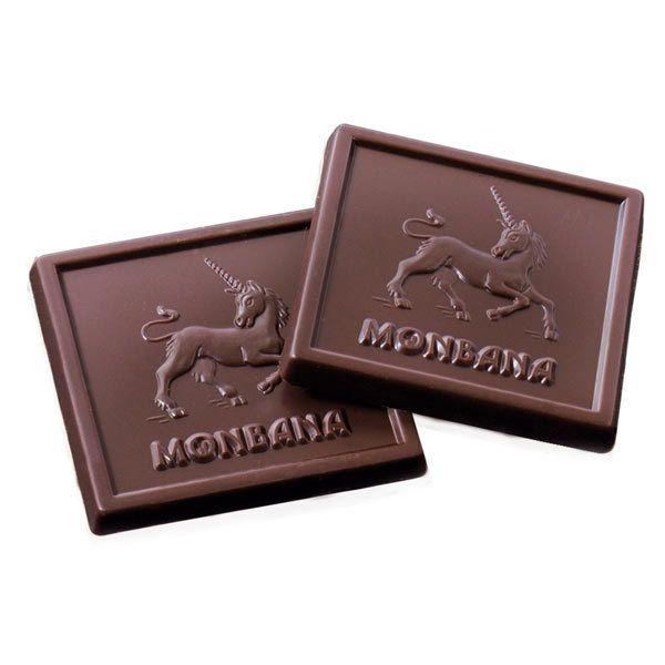 carrés de chocolat monbana | Carrés de chocolat pétillants - Boîte Tulipe - Monbana Chocolatier ...