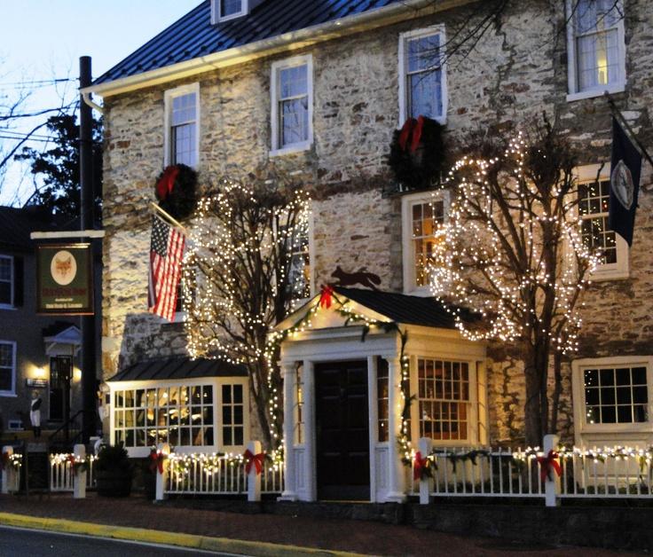 Red Fox Inn, Middleburg. Christmas Time!