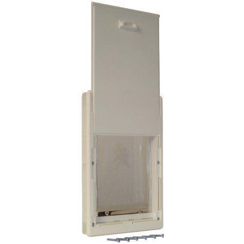 "Dog Door Cat Flap Pet Doors Doggie Gates Patio 5"" x 7"" Flap Size Telescoping ... #IdealPetProducts"