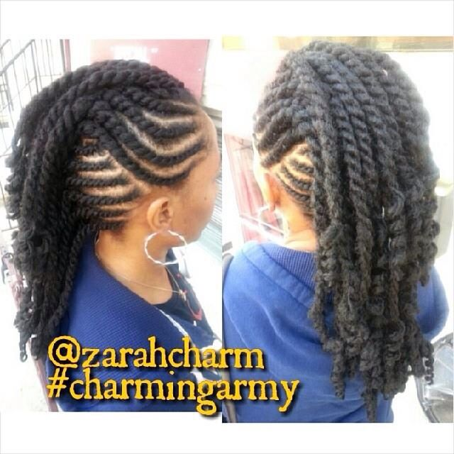 flat twist mohawk hairstyles - photo #8