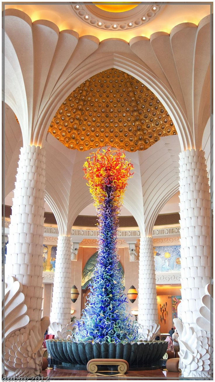Hotel Atlantis Dubai: Chihuly Glasses, Chihuly Art, Glasses Art, Atlantis Dubai, Dale Chihuly, Magic Hotels, Atlantis Dubia, Art Hotels, Hotels Atlantis
