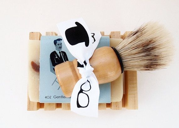 Wedding Gifts For Vegans : ... gift mens grooming kit shaving soap gifts for him handmade soap