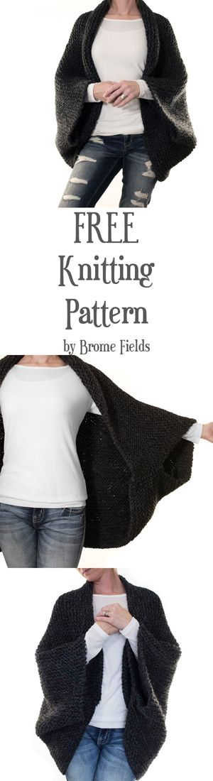 FREE Cocoon Knitting Pattern - Meditation by Brome Fields