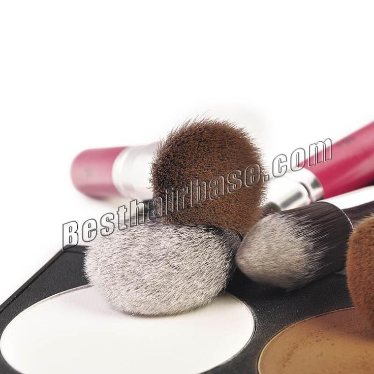 10 Pcs Anti-microbial Professional Artificial Fibre Brush Set