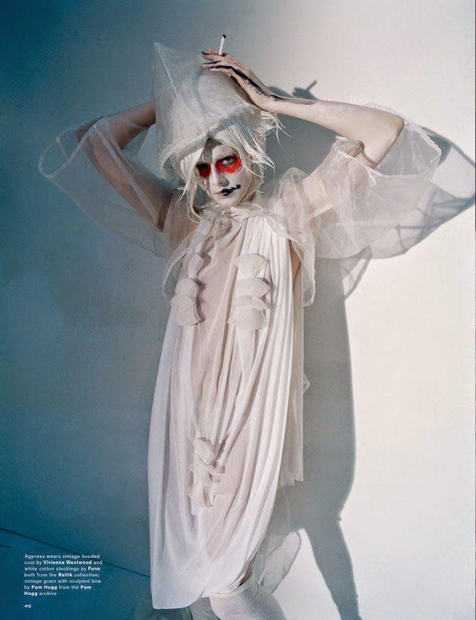 """Spooky"": Agyness Deyn by Tim Walker for Love #13 Spring/Summer 2015"