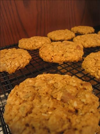 Oatmeal Barley Cookies (Wheat Free) and I replaced the egg using 1 tbsp of chi seeds mixed with 3 tbsp of water. So good!