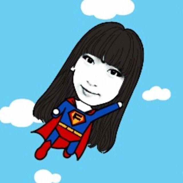 hrrining 슈퍼맨!!!=3 #페이스콘 #어플 #긔여웡 #셀스타그램 #selstagram #셀카 #selfie 귀여우다♥