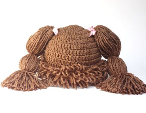 Free Crochet Baby Wig Hat Pattern : 1000+ ideas about Cabbage Patch Hat on Pinterest Cabbage ...
