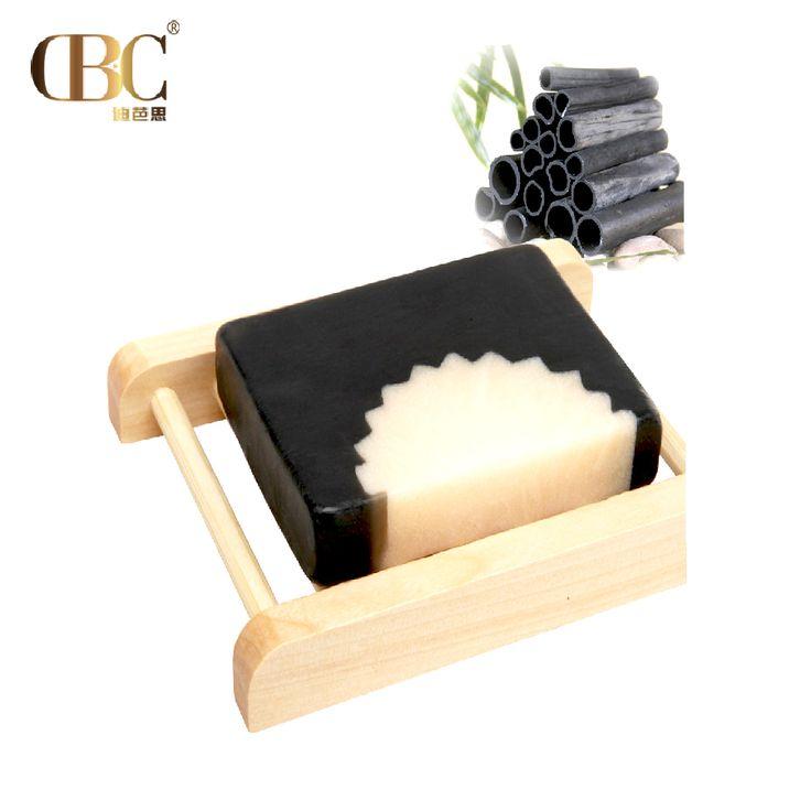 Jabón de carbón de bambú cuidado Facial limpieza profunda Eliminar cuidado de La Piel de la espinilla del tratamiento del acné control de aceite Para Blanquear Hidratante 1 unids