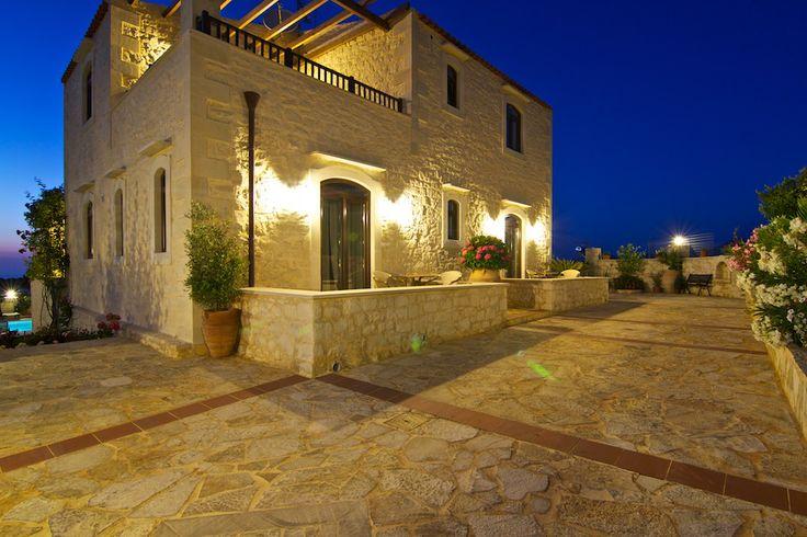 www.eleftherna.gr Villa Eleftherna Crete #villa #Crete #island #Greece #village #holidays #vacation_rental #luxury #private #summer_in_greece #visit_crete