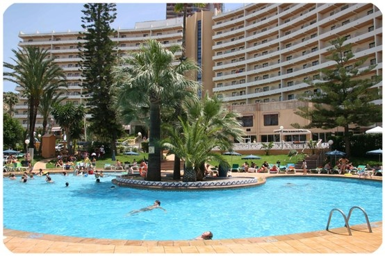 Palm Beach Hotel Benidorm, Benidorm, Spain