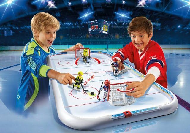 Holiday Gift Idea Playmobil Nhl Hockey Arena Nhl Hockey Hockey Arena Hockey
